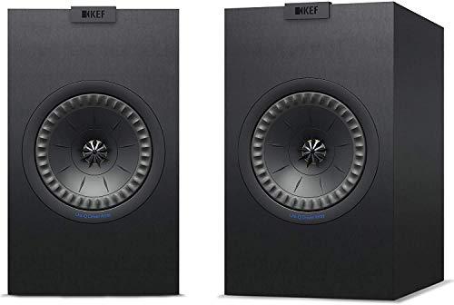 KEF Q150 Schwarz Lautsprecher Paar, HiFi | Heimkino | Regallautsprecher | Boxen | Stereo | High End | 2 Wege
