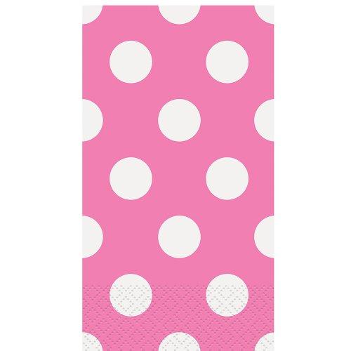 Pink Polka Paper Guest Napkins