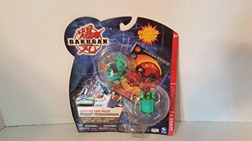 Bakugan Character Pack - Bakugan Character Pack - Green Juggernoid Series 1