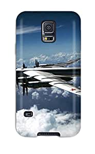 New Fashion Premium Tpu Case Cover For Galaxy S5 - Bomber