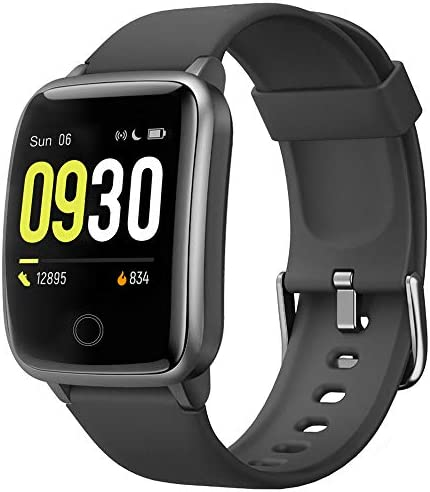 Willful Smart Watch for Men Women IP68 Waterproof, Fitness Tracker Heart Rate Monitor Sport Digital Watch, Smartwatch for Android Phones and iOS Phones Compatible iPhone Samsung
