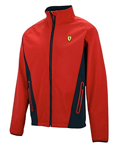 Ferrari Red Softshell Jacket - Ferrari Men For Jacket