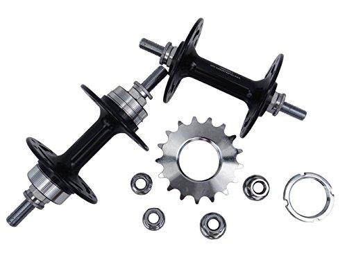 Alloy Novatec Hub For Track Road Bike Wheel RIM Holes 32 ,32 - Alloy Track Hubs