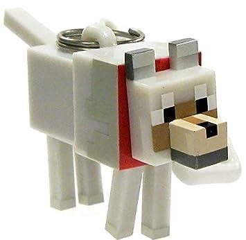 Perchas de Minecraft Series 2 Tamed Wolf - Llavero, diseño ...