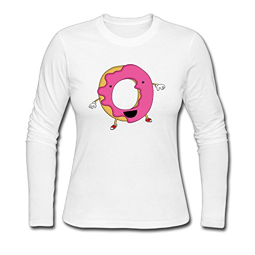 Donut Store255 Girl Organic Cotton Long Sleeve Appreal Casual