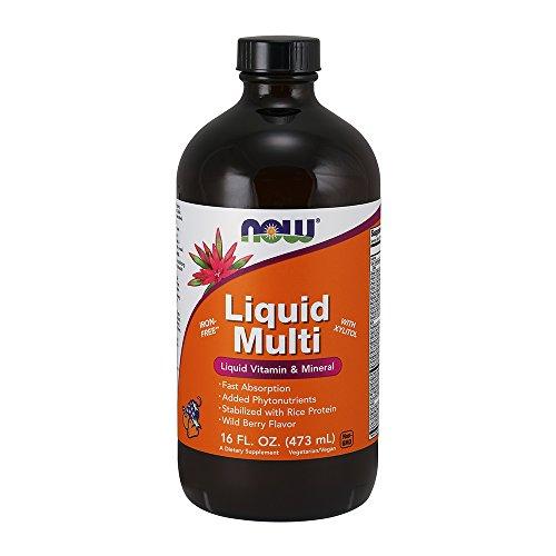 (NOW Liquid Multi, Wild Berry,16-Ounce)