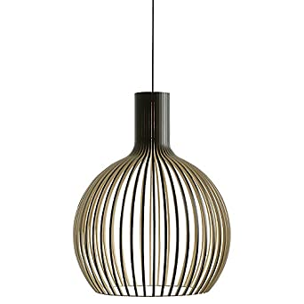 Ex John Lewis Secto Octo Ceiling Light, Black