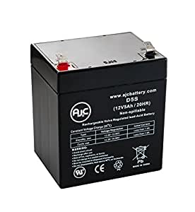 Batería de SAI de 12V 5Ah APC SMX3000RMLV2U - Es un recambio de la marca AJC®