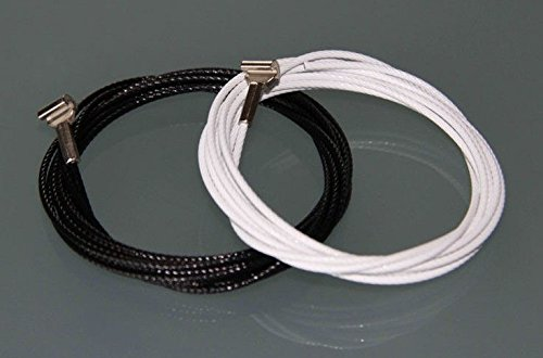 STAS Steel Cable with Cobra (10, White 78'' (200 cm)) by Stas Picture Hanging Systems (Image #3)
