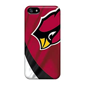 For Mxcases Iphone Protective Case, High Quality For Iphone 5/5s Arizona Cardinals Skin Case Cover