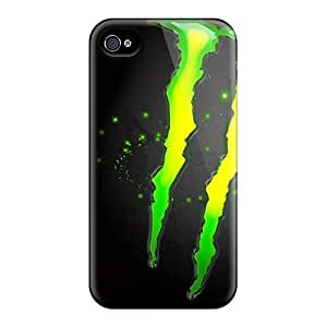 Awesome Monster Enegry Drink Flip Cases With Fashion Design For Iphone 6 by icecream design