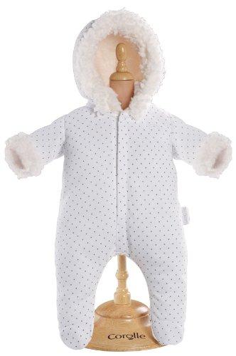 Corolle Mon Classique White Snowsuit for 17