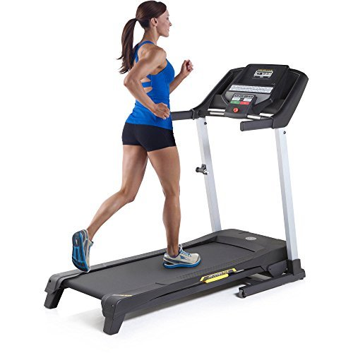 41CkF7UrdwL - Gold's Gym Trainer 430i Treadmill with Easy Assembly and Power Incline by Golds Gym