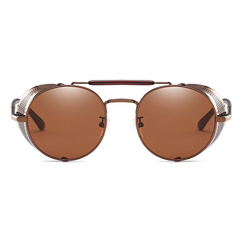 Vintage Unique Wind Steam Classic Sunglasses Coffee Retro Design Glasses Fashion Punk Sun 40xdwRO0q