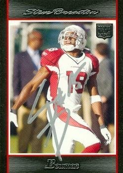 68c3dc37d Steve Breaston autographed Football Card (Arizona Cardinals) 2007 ...