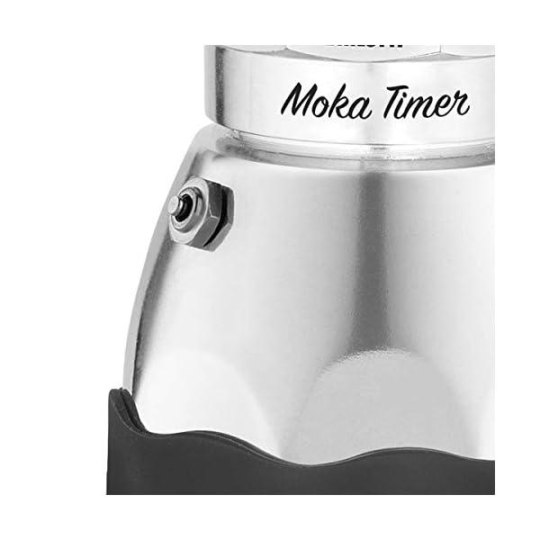 Bialetti Moka Timer, 3 Tazze, con Timer Incorporato 3