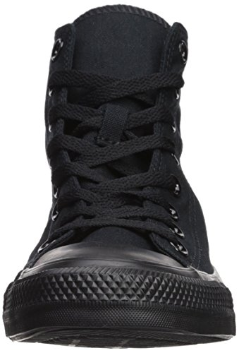 Converse Star Hi Canvas, Sneaker Unisex – Adulto Nero (Black Mono)