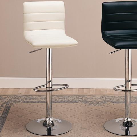 Barstool White Finish Coaster Furniture