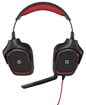 Logitech G230 Stereo Gaming Headset – On-cable Controls – Surround Sound Audio – Sports-performance Ear Pads – Rotating Ear Cups – Light Weight Design 1