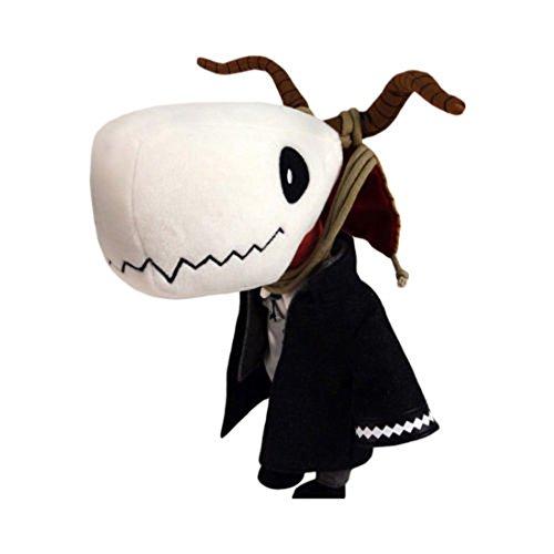 "Newhui Magus Cosplay Cotton Plush Doll Elias 10"" Skull Stuffed Toy"