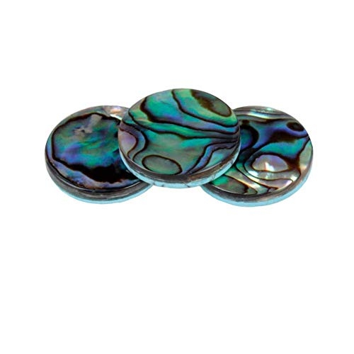 3Pcs Trumpet Finger Buttons, Colorful Abalone Shell for sale  Delivered anywhere in USA