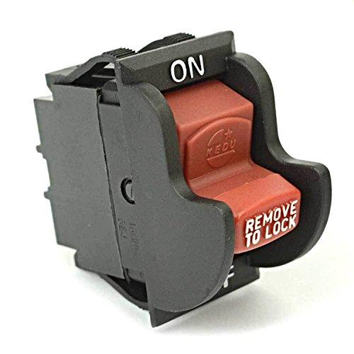 SW7B On-Off Toggle Switch for Delta ,Black & Decker, Porter Cable 489105-00, 438010170141 Rigid / Ryobi 46023
