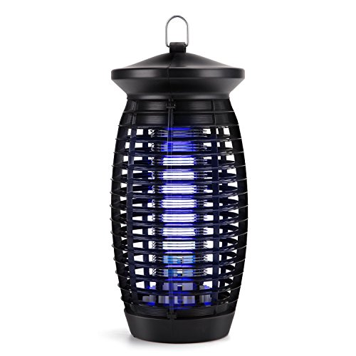 S SAVHOME [2018 UPGRADED Electric Bug Zapper, Insect Killer, Mosquito Trap, Fly Gnat Trap with 120V UV Bug Light/500 Sq Ft Coverage for Home Office Store Indoor by S SAVHOME