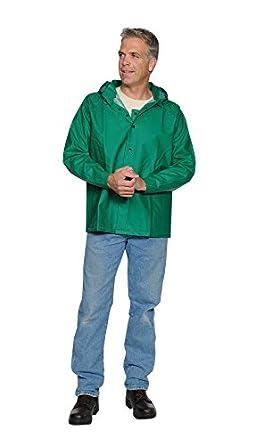 Condor 4pcj7 lluvia chaqueta, 4 x l, verde, campana: Amazon ...