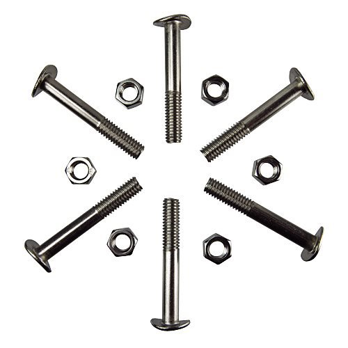 S.R. Smith 60-702 Ladder Bolt-Nut Sets, Hardware for 3 Treads