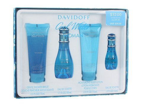 Womens Cool Water by Davidoff 4-pc. ()
