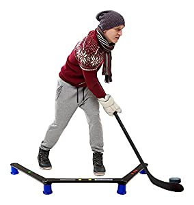 Hockey Revolution Stickhandling Training Aid, Equipment for Puck Control, Reaction Time and Coordination