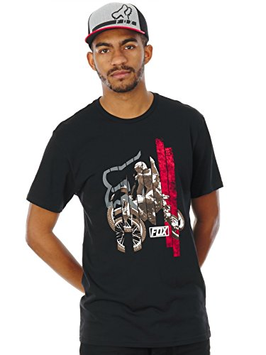 Fox T-Shirt Getting Even Schwarz