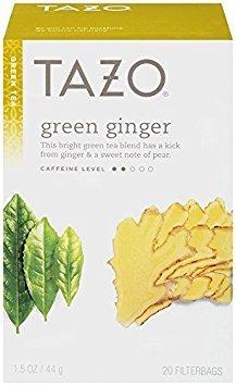 Tazo Green Tea Ginger -- 20 Tea Bags - 2 ()