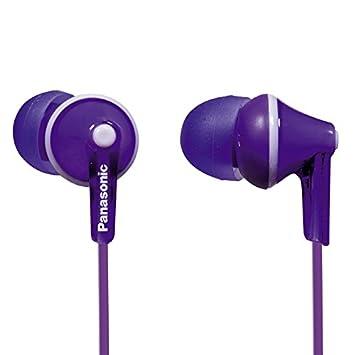 Panasonic ErgoFit, Auriculares intraurales, color Violeta: Amazon.es ...