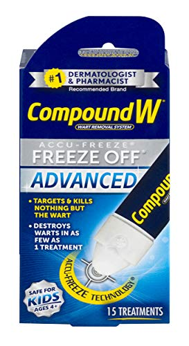 (Compound W Accu-Freeze Freeze Off Advanced | Wart Removal | 15 Treatments)