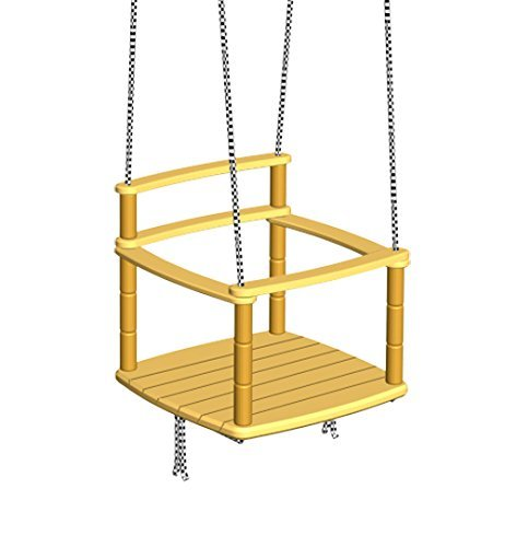 Wooden Kids Swing / Indoor or Outdoor Playground Equipoment / Playroom, Yard, Garden or Tree Swing Set for Baby / Ecological and Eco-friendly Swings