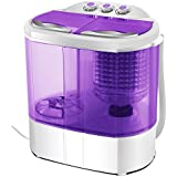 KUPPET Portable Washing Machine, Mini Compact Durable Design to Wash All Your Laundry, Twin Tub Washer and Dryer Combo for Apartments, Dorms, RV Camping Swim Suit Spinner Dryer