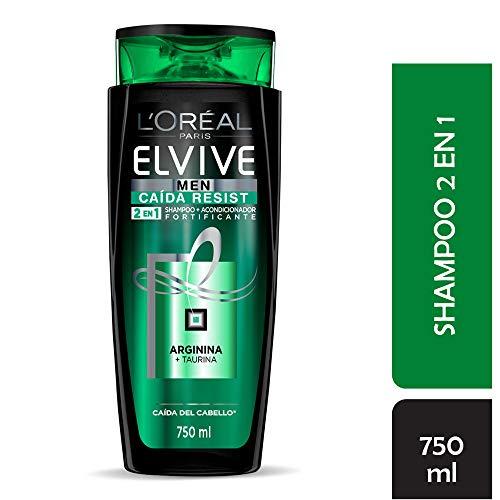 Shampoo 2 en 1 Caída Resist Men Elvive L'Oréal Paris 750 ml