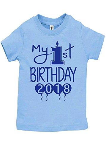 Aidens Corner Baby Boy My First Birthday Handmade Bodysuits Shirts