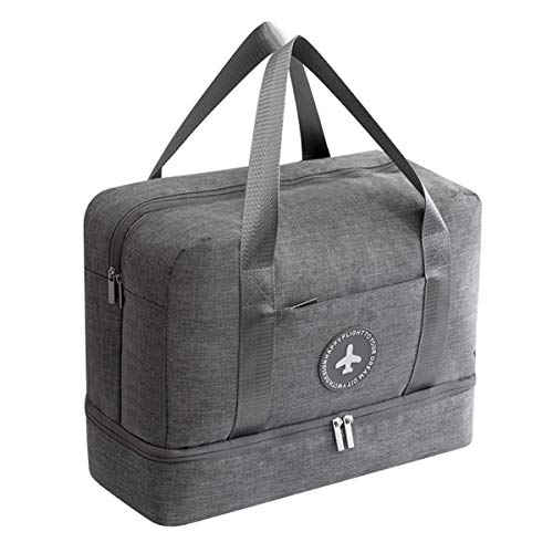 Vaincre Swim Bag, Dry Wet Area & Shoe Compartment Separated Waterproof Duffle Bag for Gym, Pool, Beach by Vaincre (Image #9)