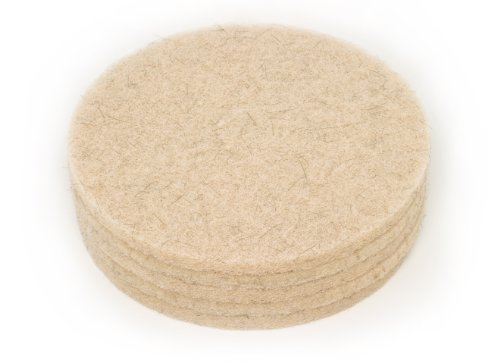 - Clarke 976352 Commercial 20 Inch Diameter Natural Blend Tan High Speed Pad, Case of 5