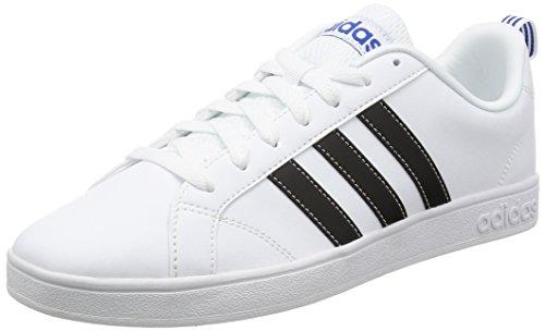 Adidas VS Advantage, Scarpe da Ginnastica Uomo, Bianco (Ftwbla/Negbas/Azul), 38/39 EU