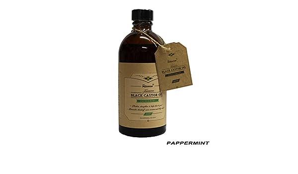Junio de Milnrow menta Jamaica negro Castor Oil 100% Pure aceite para el cabello crecimiento y pérdida de pelo tratamiento 300 ml/10.56 oz: Amazon.es: ...