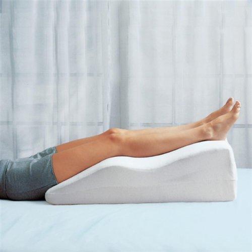 Foam Leg Pillow - Leg Elevator (Beige) (25''L X 20''W X 11''H) by HUDSON