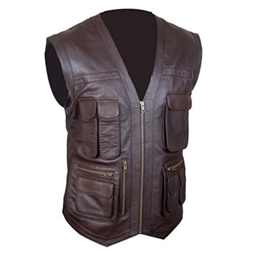 Kid/'s Distressed Jurassic World Chris Pratt Owen Grady Vest