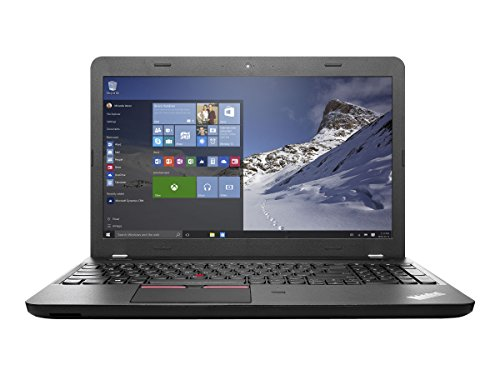 Lenovo ThinkPad E560 Laptop, Intel Core i5-6200U 2.3GHz, 500GB SATA, 4GB DDR3, 802.11ac, Bluetooth, Win7Pro, Black, 15.6""