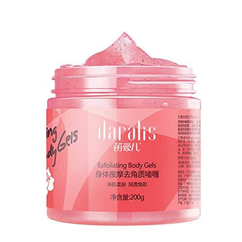 - LiboboFace Scrub Removal Peeling Gel Facial Exfoliator Exfoliating Body Cream Pretty