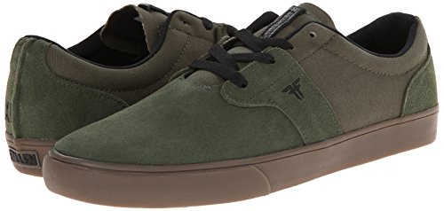 FALLEN CHIEF XI SURPLUS GREEN/GUM THOMAS Signature Skate Shoes Sz 8