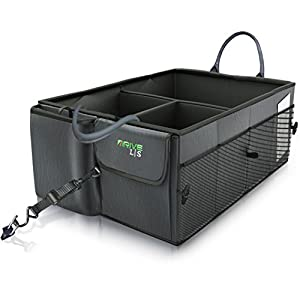 Car Trunk Organizer with Straps