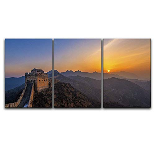 3 Panel The Great of China at Sunset x 3 Panels